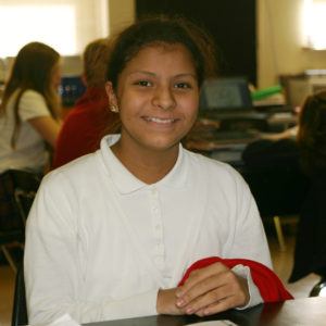 Middle school reinforces good student study habits.