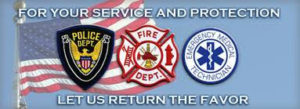first responders return the favor