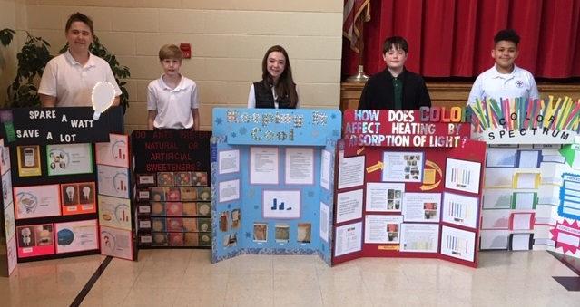 Science Fair Winners 2020.2019 Science Fair Winners Sacred Heart Catholic School